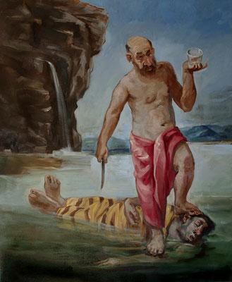 Pavel Feinstein: *N 2348*, 2018, Öl/Leinwand, 170 x 150 cm