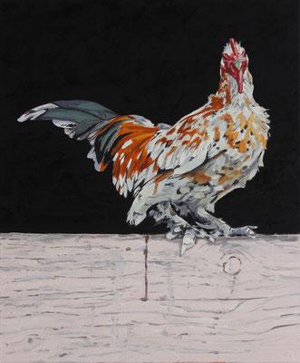 Hartmut Kiewert: *Companion IX*, 2018, Öl/Leinwand, 60 x 50 cm