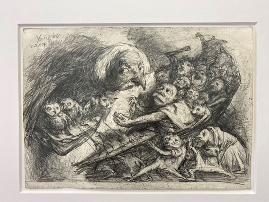 Yongbo Zhao: *Ohne Titel*, 2017, Bleistift/Papier, 21 x 29,5 cm