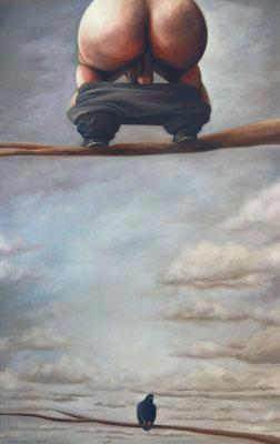 Bruno Pontiroli: *Le dernier mot*, 201, Öl/Leinwand, 116 x 73 cm
