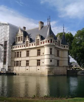 Azay-le-Rideau en travaux (37)