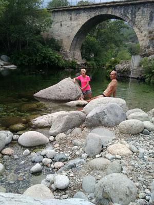 Baignade à Noceta