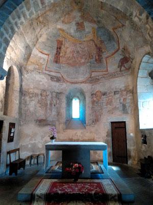 Fresques de l'église-Novacelle (63)