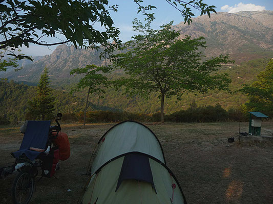 Notre camping proche de Venanco