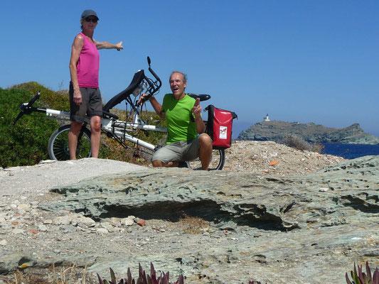1er jour devant l'Île de Giraglia