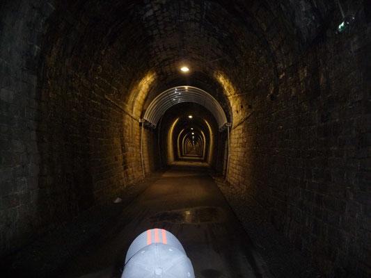 """Tunnel sur la """"Passa Païs"""" à St-Pons-de-Thomières (34)"""