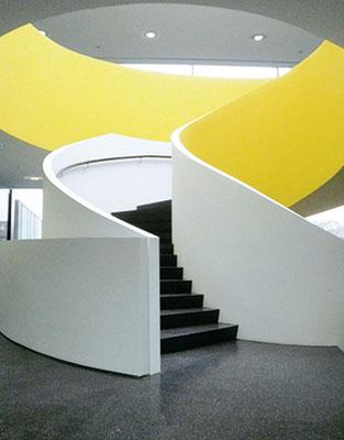 Gussasphalt BituTerrazzo Classico Bürohaus Mancini incl. Treppenhaus