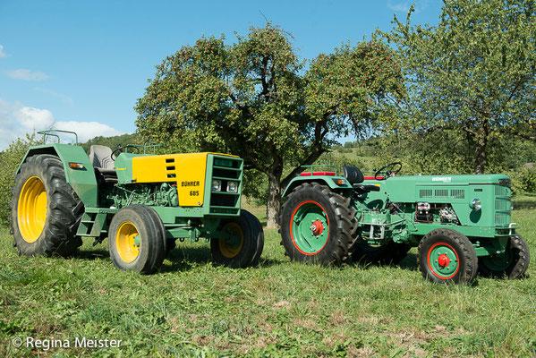 Oldtimer Traktoren