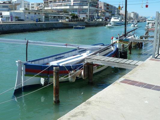 le port de pêche de Sète