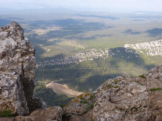 au sommet du Pic saint loup
