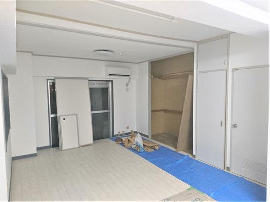 愛知県名古屋市 新規開業店舗の美容室の内装工事
