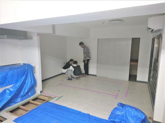 愛知県名古屋市 新規店舗の美容室の改装工事