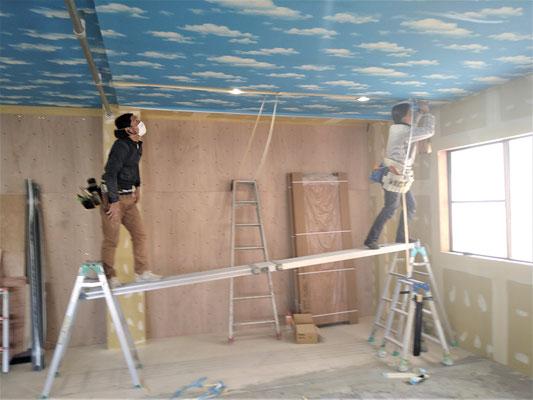 イクメンリフォームによる放課後等デイサービスの新店舗工事の内装工事