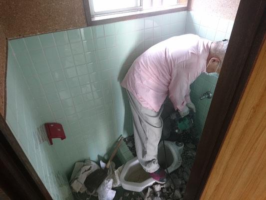 イクメンリフォームの和式トイレを洋式トイレに激安リフォーム