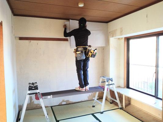 イクメンリフォームによる愛知県名古屋市の激安クロス張替え
