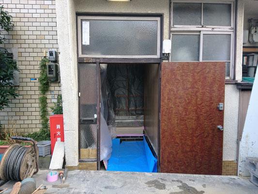 玄関のリフォ-ム 岐阜