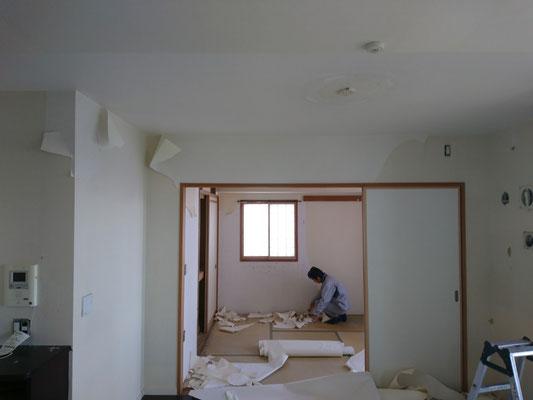 名古屋市 激安壁紙張替え