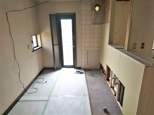 岐阜県多治見市 激安システムキッチンリフォーム