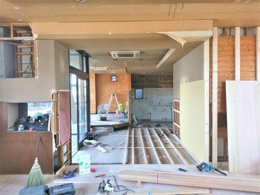 愛知県一宮市 新規開業店舗の内装工事