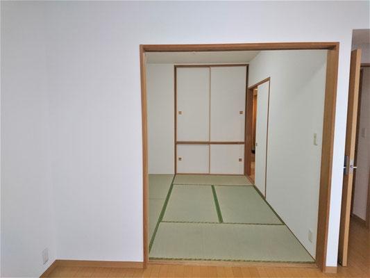 和室 壁 クロス張替え 愛知県一宮市