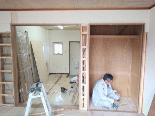 イクメンリフォームによる、岐阜県瑞穂市のアパートの激安リフォーム