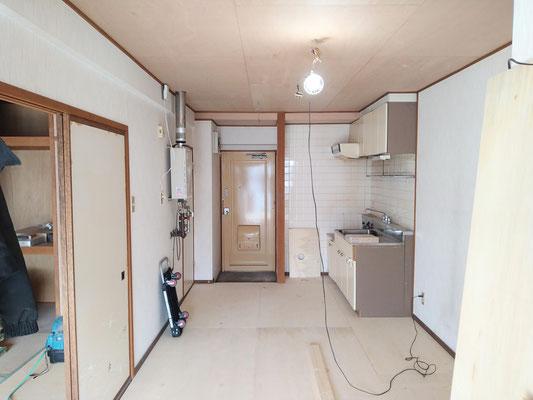 クメンリフォームによる岐阜県岐阜市のマンションの激安リフォーム
