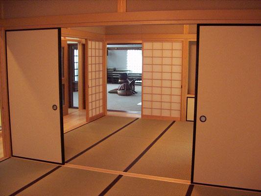 愛知県名古屋市 住宅の増築。リフォ-ム工事
