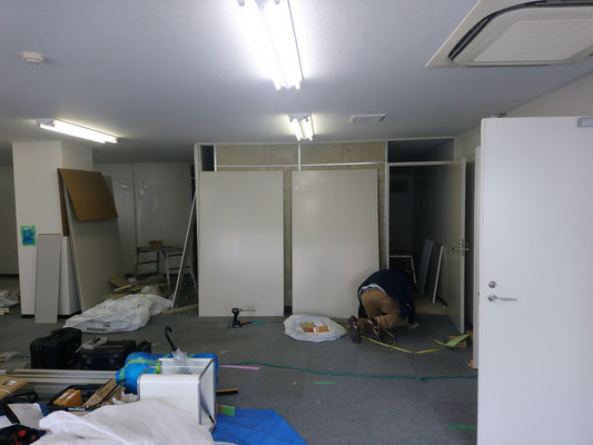 保育園の改装工事 名古屋市