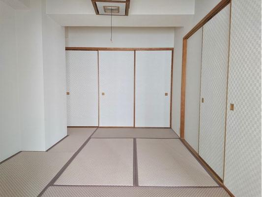 愛知県小牧市 カラ-畳