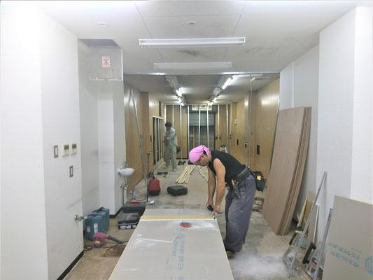 イクメンリフォームの岐阜の新店舗の激安内装工事