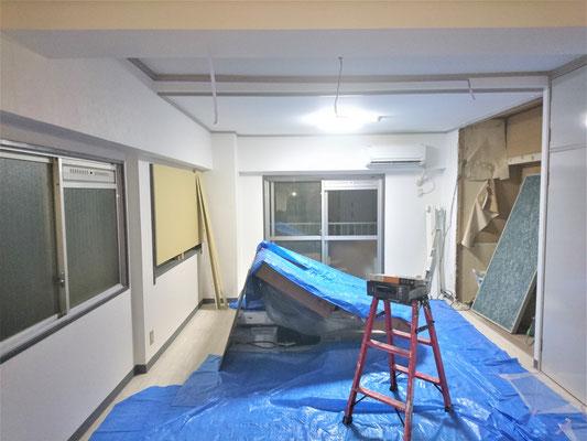 愛知県名古屋市 激安、新規開業店舗の内装工事