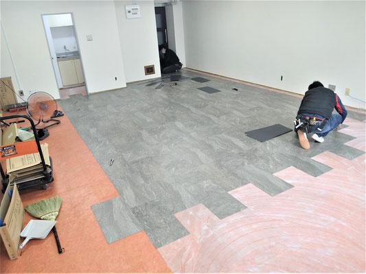 愛知県名古屋市にて事務所の激安内装工事