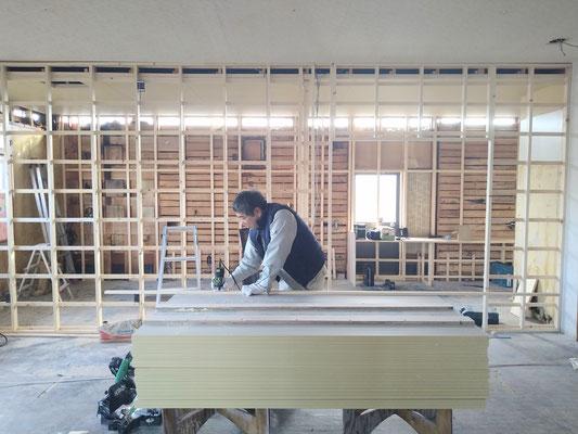 イクメンリフォームによる岐阜県岐阜市の放課後等デイサービスの内装工事