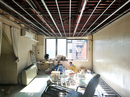 二世帯住宅のリノベ-ション工事 名古屋市