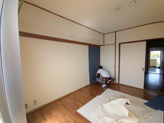 岐阜県岐阜市のアパートの激安クロス張替え
