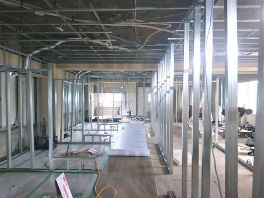 イクメンリフォームの新規開業店舗の激安改装工事