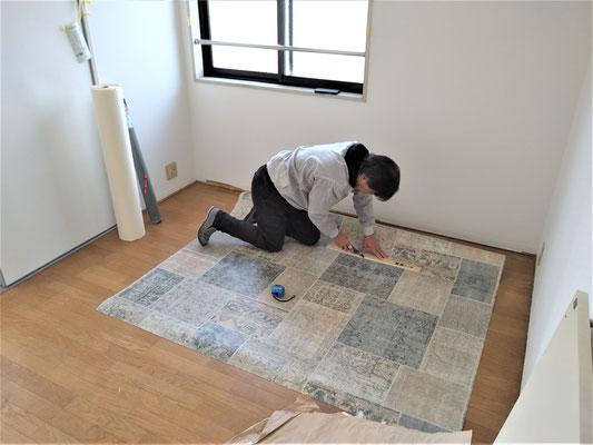 イクメンリフォームによる、岐阜県関市の激安、壁紙クロスの張替え