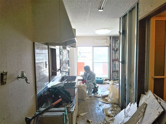 岐阜県可児市 アパートの激安リフォーム
