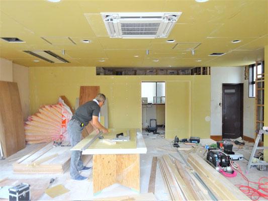 イクメンリフォームによる、放課後デイサービスの改装工事