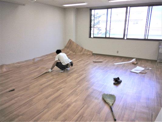 名古屋大学の研究室の内装工事