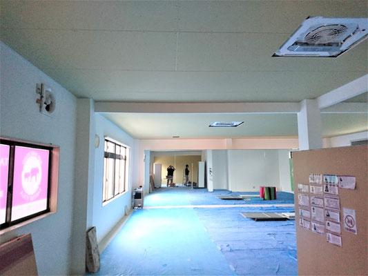 愛知県長久手市 店舗の改装工事