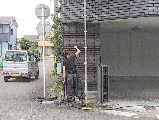 岐阜県岐阜市の住宅の激安塗装工事