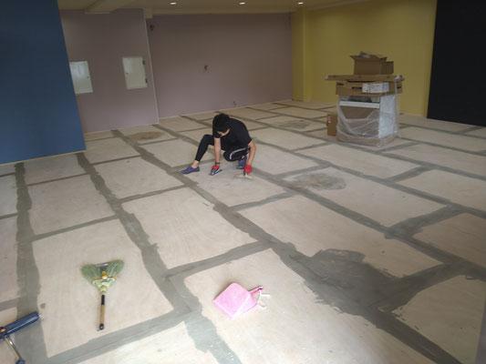 イクメンリフォームによる岐阜市の放課後等デイサービスの新規事業所の工事
