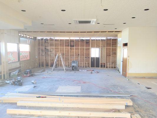 岐阜県岐阜市、放課後等デイサービスの新規開業の店舗工事