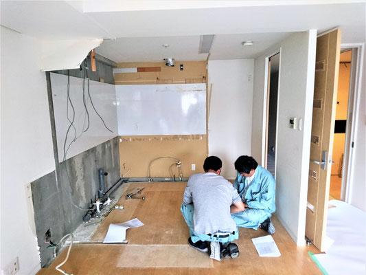愛知県一宮市 システムキッチンリフォーム