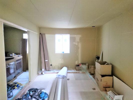 名古屋市、二世帯住宅のリノベーション工事中!