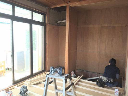 岐阜県岐阜市 住宅の激安リフォーム(和室を洋間にリフォーム)