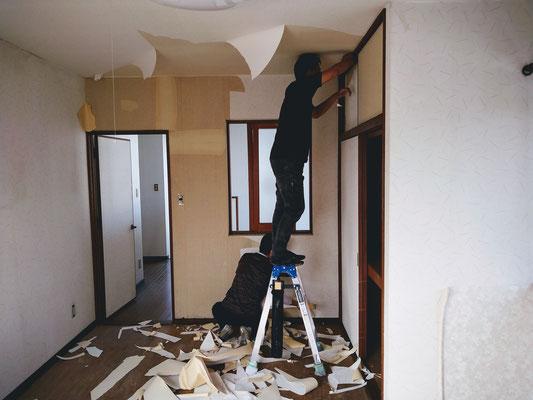 イクメンリフォームによる、愛知県春日井市の住宅の激安リフォーム工事中!