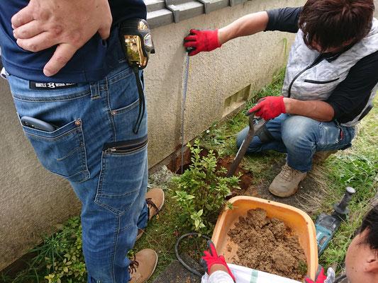 岐阜県各務原市の塀のリフォーム工事