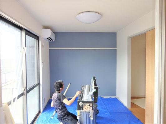 イクメンリフォームによる、岐阜県羽島市の激安壁紙クロス張替え